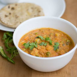 South Indian Mixed Vegetable Kurma