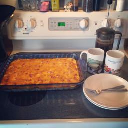 Southwest Breakfast Casserole