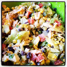 Southwest Chopped Chicken Salad