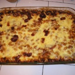 Southwestern Pasta and Beans