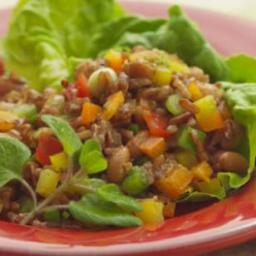 Southwestern Rice and Pinto Bean Salad