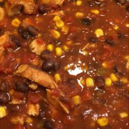 Southwestern Chicken Chili