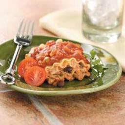 Southwest Lasagna Rolls Recipe
