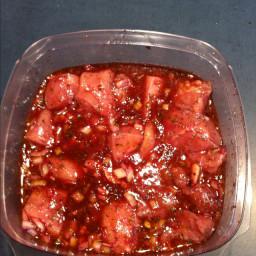 Souvlaki Recipe - Greek Meat Marinade