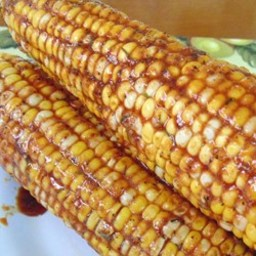 Soy-Glazed Corn on the Cob