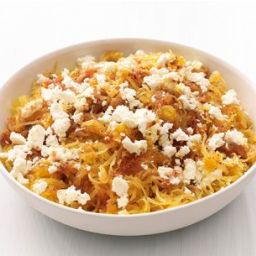 Spaghetti Squash with Feta
