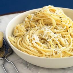 Spaghetti with Pecorino and Black Pepper