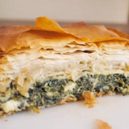 Spanakopita (Greek Spinach Pie)