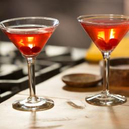 Spanish Cranberry Sparkling Martini