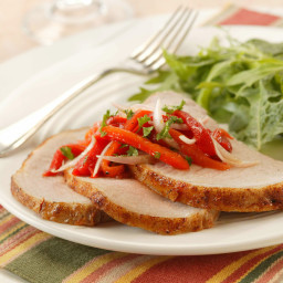 Spanish-Inspired Grilled Pork Roast