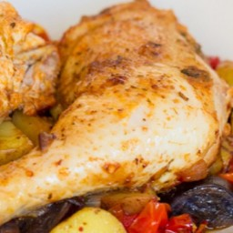 Spanish Roast Chicken