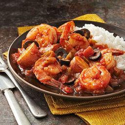 Spanish Shrimp Stir-Fry