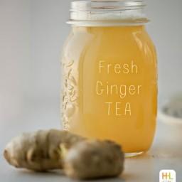 Speedy Spicy Fresh Ginger Tea