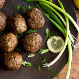 Spelt and Lamb Meatballs