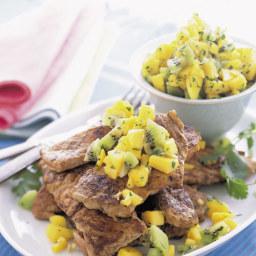 Spiced Pork Tenderloins with Mango Salsa