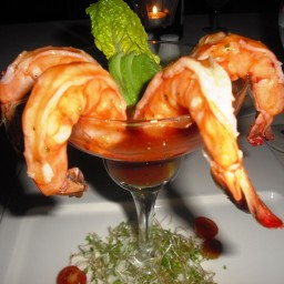 Spiced Prawn Cocktail