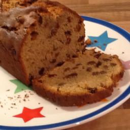 Spiced sultana loaf cake