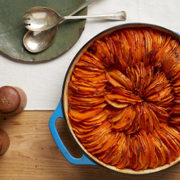 Spiced Sweet Potato and Parsnip Tian