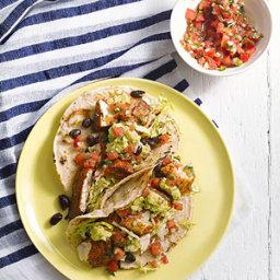 Spiced Tilapia Tacos