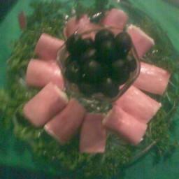 Spicey Ham Rollups