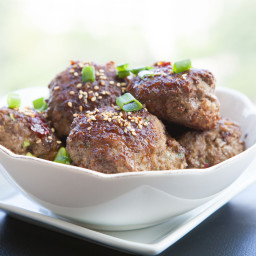 Spicy and Sweet Asian BISON Meatballs