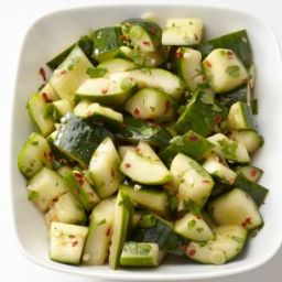 Spicy Asian Cucumbers