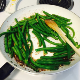 Spicy Green Beans and Bacon
