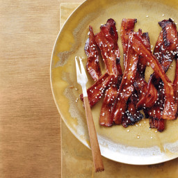Spicy Honey-Glazed Bacon