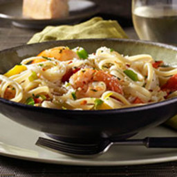 Spicy Linguine with Shrimp
