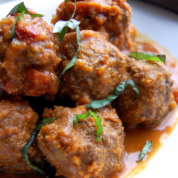 Spicy Meatballs In Adobo Sauce