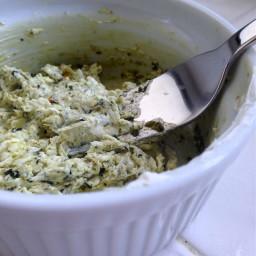 Spicy Pesto Cream Cheese