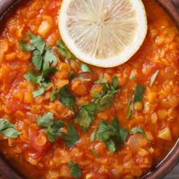 Spicy Red Lentil Dal