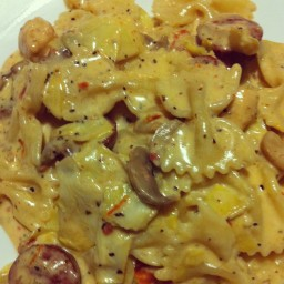 Spicy Romano Chicken With Artichoke Hearts and Sundried Tomatoes