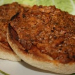 Spicy Sardines on Toast
