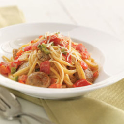 Spicy Sausage Linguine Recipe