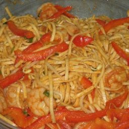 Spicy Shrimp with Udon Noodles