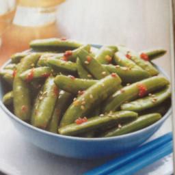 Spicy Sugar Snap Peas
