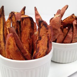 Spicy Sweet Potato Bakes