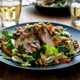 Spicy Thai Pork Tenderloin Salad