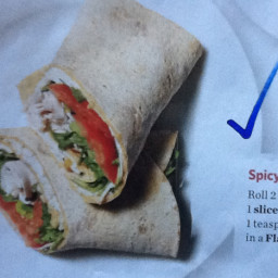 Spicy Turkey Wrap
