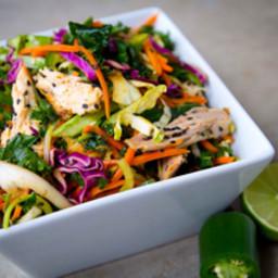 Spicy Asian Chicken Salad