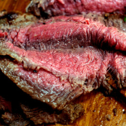 Spicy Asian Marinated Flank Steak