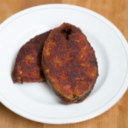 Spicy Vanjaram Fish Fry