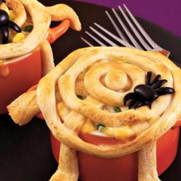 Spiderweb Pot Pies