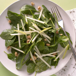 Spinach and Green Apple Salad