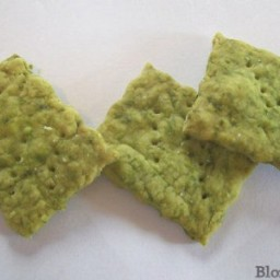 Spinach Cracker Recipe : A Sneaky Way to Get Your Toddler to Eat Veggies