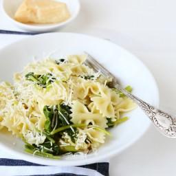 Spinach Garlic Pasta