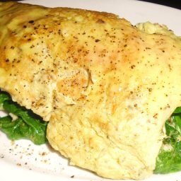 Spinach Omelette Ccheryl Style
