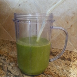 Spinach Pumpkin Spice Breakfast Smoothie