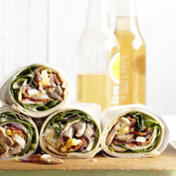 Spinach Salad Wrap